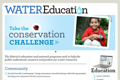 Education topics at Southwest Florida Water Management District
